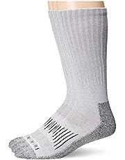 Dickies Men's 3 Pack Heavyweight Cushion Compression Work Crew Socks