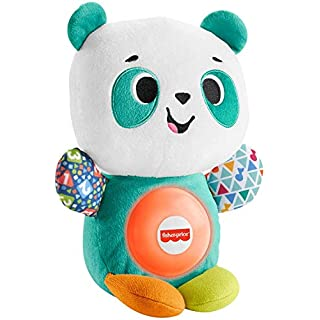Fisher-Price Linkimals Play Together Panda, musical learning plush toy for babies and toddlers