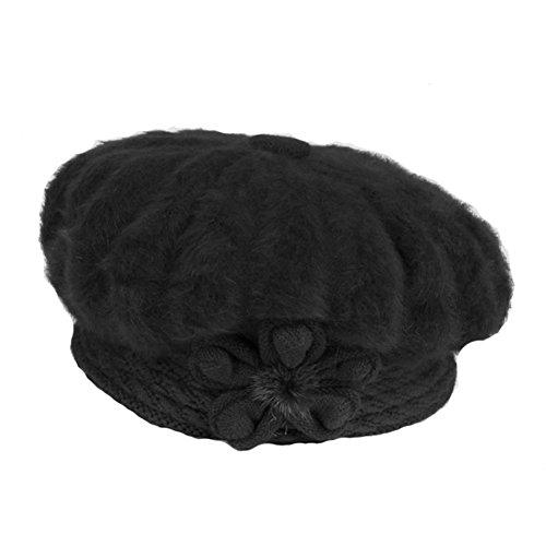 del la En de invierno mayor black gorros sombrero femenino gorros mamá paste red Capa YANXH bean bordados el nvPqfdW88w