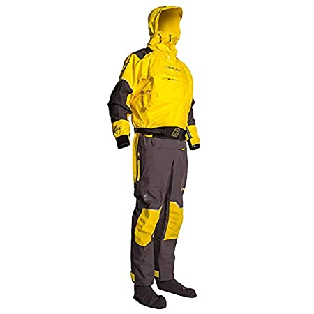 Level Six Triton Drysuit traje seco Kayak traje de kayak ...