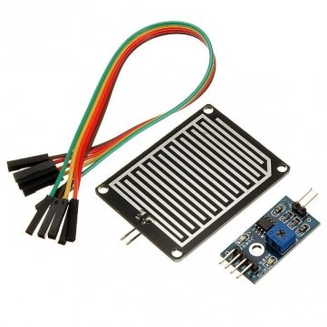 Humidity Detection Sensor Module Rain Detection for Arduino Raspberry pi (Circuit Rain Sensor)