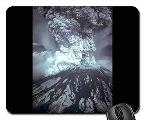 Mouse Pad - Mount St Helens Volcanic Eruption Eruption Outbreak 1 ()