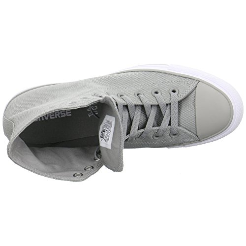 CONVERSE - CT AS HI 155414C dolphin white gris/blanco