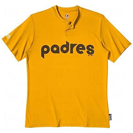 sneakers for cheap af815 e42ea Amazon.com : Majestic Two Button San Diego Padres Cool Base ...