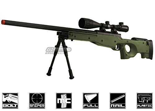Bravo Full Metal MK98 Bolt Action Sniper Rifle (OD/Bipod - Sniper Metal Rifle