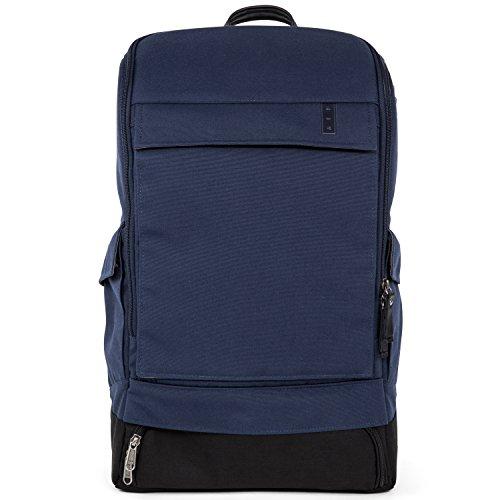 AEP Business-Rucksack ALPHA CLASSIC für Herren und Frauen inklusive 15 Zoll Laptopfach - Schwarz Universe Blue - Blau, Schwarz