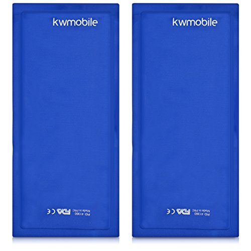 kwmobile Cold Compress Gel Packs - 2X Reusable Gel Ice Packs for Hot/Cold Therapy (11'' x 5.1'') - Fast Pain Relief for Sports Injuries, Swelling by kwmobile (Image #5)