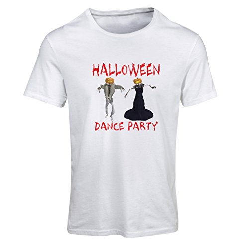 T Shirts for Women Cool Halloween Party Events Costume Ideas, (XX-Large White Multi -