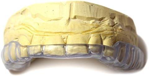 JS Dental Lab Custom Dental Night Guard, Sleep Mouth Guard for Teeth Grinding, Bruxism & TMJ Relief - Upper Bite Guard