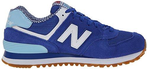 New Wl 574 White Blue Trainers Donna Spb Balance 1CarqxwF16