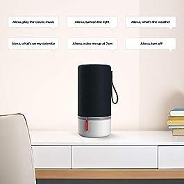 Libratone Zipp 2 Portable Smart Speaker with Amazon Alexa Built-in, Voice Control, Wi-Fi & Bluetooth Connection, 100W…