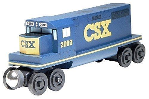 - CSX GP-38 Diesel Engine - Wooden Toy Train by Whittle Shortline Railroad