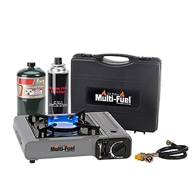 Can Cooker Multi-Fuel Burner, Black