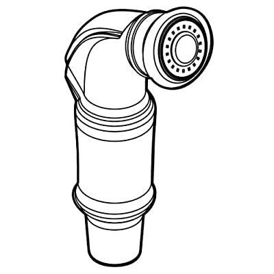 Moen 144474 Replacement Hose and Spray Kit Only,