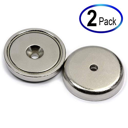 Neodymium Cup Magnets with 112 LBS Pull Capacity Dia 1.57