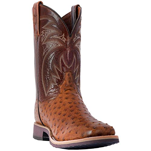 Men's Dan Post Philsgood Ostrich Boots Handcrafted ()