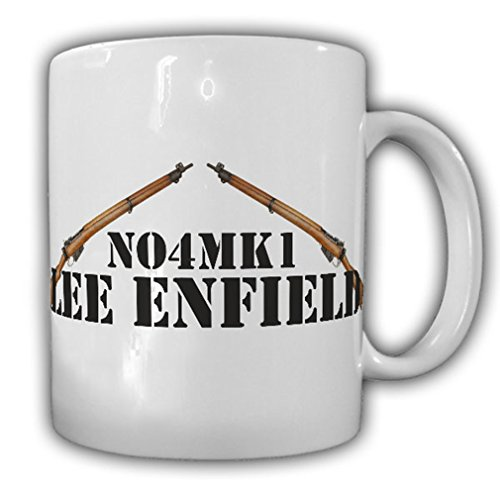 No4Mk1 Lee Enfield British Army British Ordnance Armed Forces Police Officers Repetierbüchse Short Magazine - Coffee Cup - Shorts Enfield