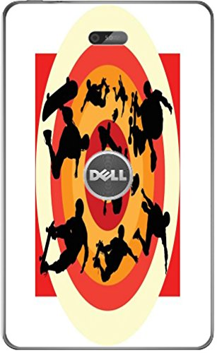 Smarter Designs Protective Skin Skateboard Action Men Printed Design Dell Venue 8 Vinyl Decal Sticker Skin - Venue Skateboards