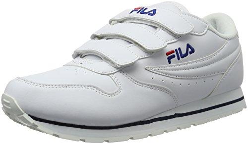 Fila Orbit Velcro Low - Zapatillas Hombre Weiß (Bright White)