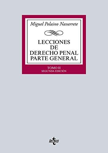Descargar Libro Lecciones De Derecho Penal Parte General - Tomo Ii Miguel Polaino Navarrete