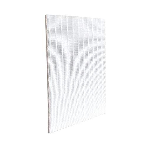 Filter Frameloze Dust Removal Cleaner Purifier Filter Element Hoog Rendement HEPA-filter (Color : Ivory)