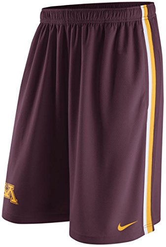 Nike Minnesota Golden Gophers Epic Stay Cool Men's Shorts (2XL, Dark - Nike Gold Shorts Training