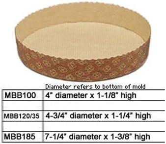 Novacart Tortina Round Disposable Paper Baking Mold