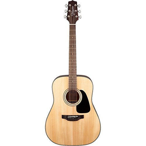 eadnought Solid Top Acoustic Guitar Gloss Natural (Gloss Top Acoustic Guitar)