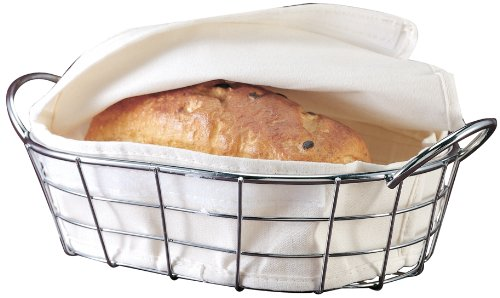 Bread Basket with Warming Bag - Round Danesco