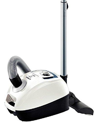 Bosch BGL4SIL69W GL-40 ProSilence - Aspirador sin bolsa, Quattropower, sistema PowerProtect, filtro HEPA h10, color blanco