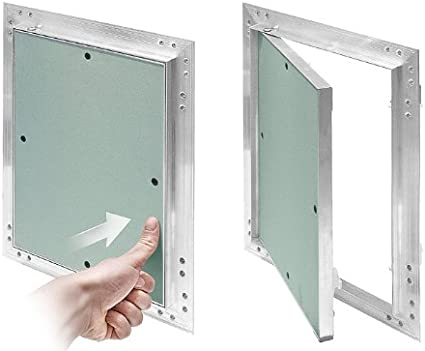 x 200 300 MKK-cadre en aluminium-g 12,5 mm trappe insert en plaques de pl/âtre