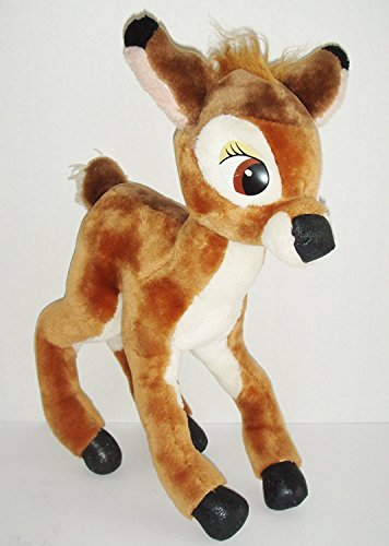 Rare VINTAGE Disneyland Walt Disney World Bambi Plush Stuffed Toy 16