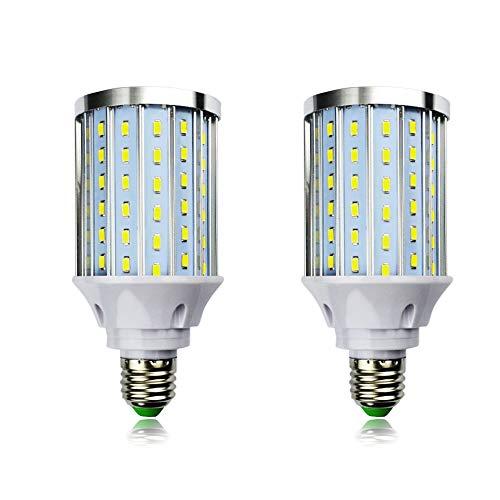 MD Lighting 30W E27 LED Corn Light Bulbs(2 Pack)- 108 Leds 5730 SMD 2700 LM COB Light Lamp Ultra Bright Daylight White 6000K LED Bulb 240 Watt Equivalent for Backyard - Ultra Corn Thin