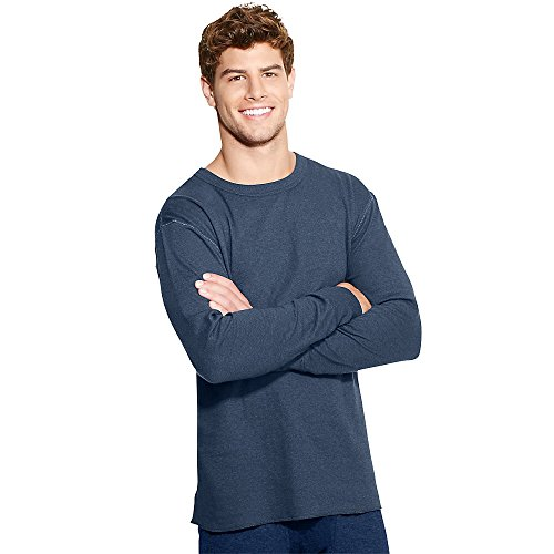 duofold-by-champion-mens-originals-wool-blend-thermal-shirt-blue-jean-l