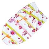 Swaddle Wrap Blankets Swaddling Infant Sleeping Bag Bedding Blanket for 0-6M 7