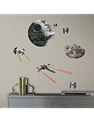 RoomMates RMK3012SCS Star Wars EP VII Spaceships P&S Wall Dec...