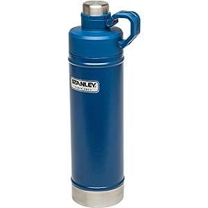 Stanley Classic Vacuum Water Bottle, Hammertone Cobalt, 25 oz