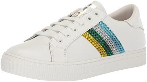 (Marc Jacobs Women's Empire Strass Low TOP Sneaker, Green/Multi, 37 M EU (7 US))