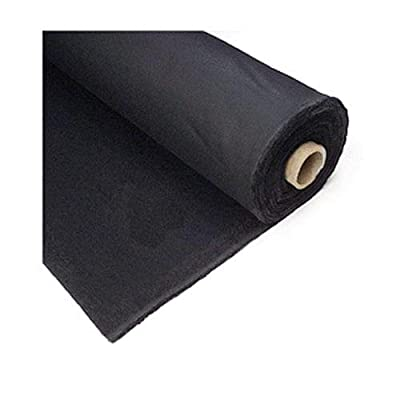 "Studio Depot Duvetyne Light Block-Out Cloth, Roll, 54""x5 Yards, Black by Studio Depot"