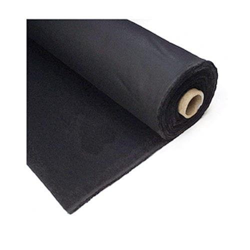 Studio Depot Duvetyne Light Block-Out Cloth, Roll, 54'' x5 Yards, Black