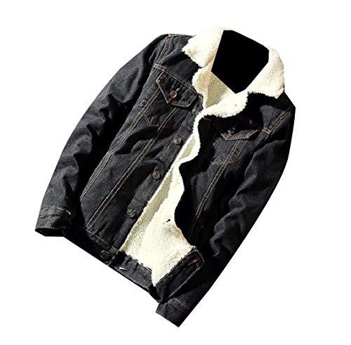 In Di Outwear Nero Cappotto Del Forma Modo Più Sankt Degli Giacca Addensato Di Jeans Uomini Velluto Di 6tpr6