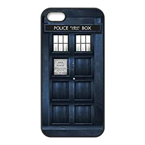 Blue police box Cell Phone Case for iPhone 5S