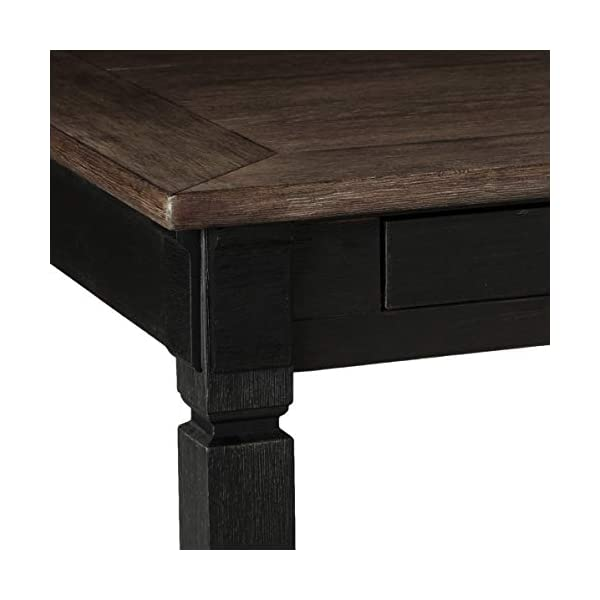 Signature Design by Ashley Tyler Creek Dining Room Table, Black/Gray