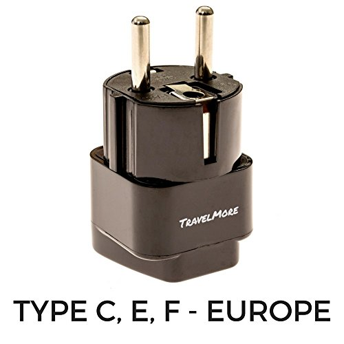 Europe Travel Adapter For European Outlets Type C Type E Import It All