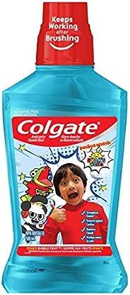 Colgate Kids Mouthwash, Ryan's World, Ryan's Bubble Fruit, 500 Mil