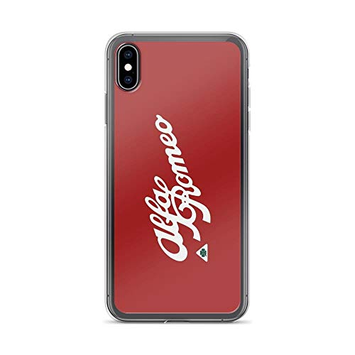 iPhone Xs Max Case Clear Anti-Scratch Alfa Romeo Family, alfa Cover Phone Cases for iPhone Xs Max, Crystal Clear -