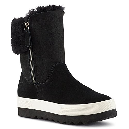 Stivale Di Shearling Vera Donna Cougar In Nero