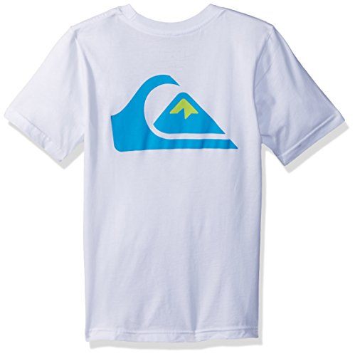 Quiksilver Big Boys' Vice Versa Youth Tee Shirt, White, L/14 by Quiksilver (Image #2)