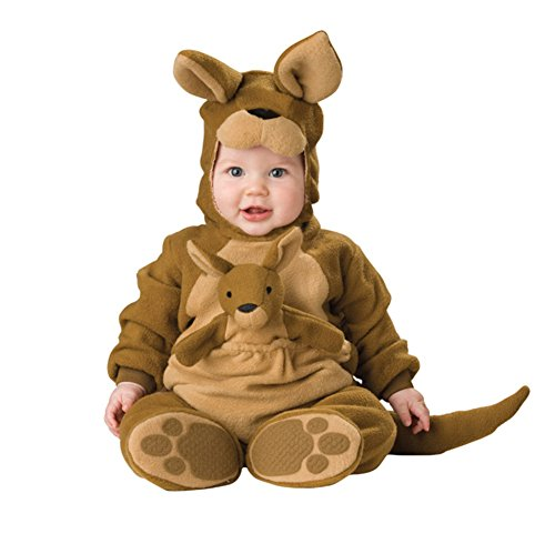 Kangaroo Baby Costume (Zhiban Baby Boys' Kangaroo Costume Cosplay Suits for Infant Girls Onesie L)