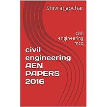civil engineering AEN PAPERS 2016: civil engineering mcq